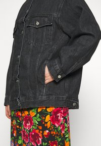 Topshop - DAD - Denim jacket - black denim - 3