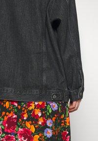 Topshop - DAD - Denim jacket - black denim - 6