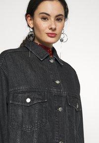 Topshop - DAD - Denim jacket - black denim - 4