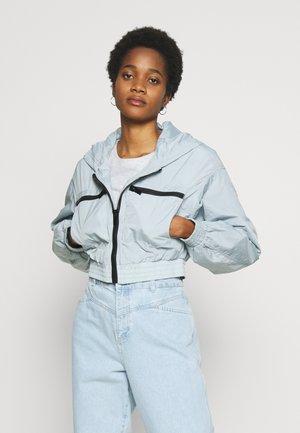 JUNO SHELL - Summer jacket - blue