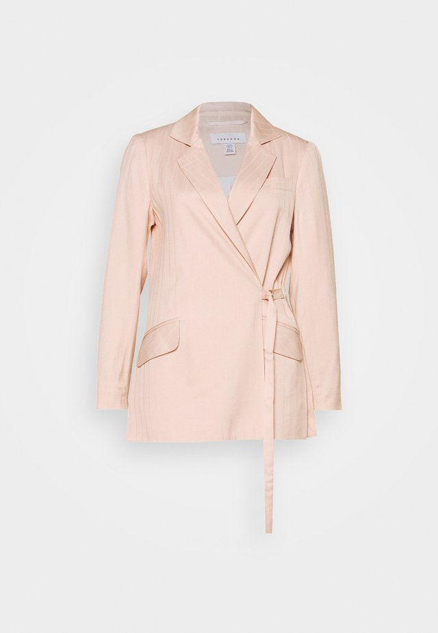 SELF STRIPE - Blazer - nude