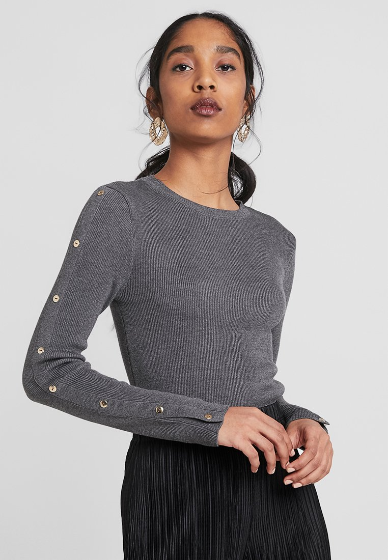 Topshop - Strickpullover - charcoal