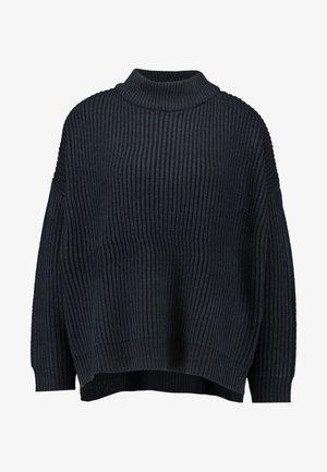 PLATED FUN - Stickad tröja - navy