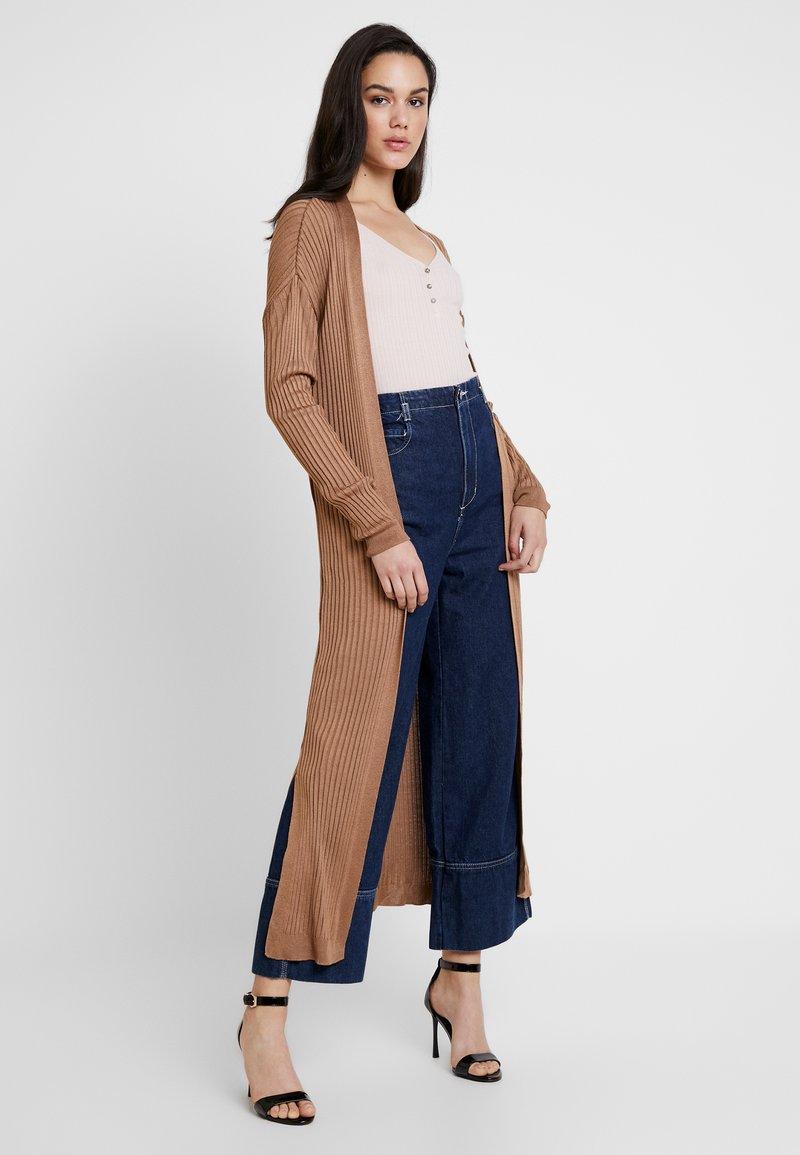 Topshop - CARDI - Vest - light brown