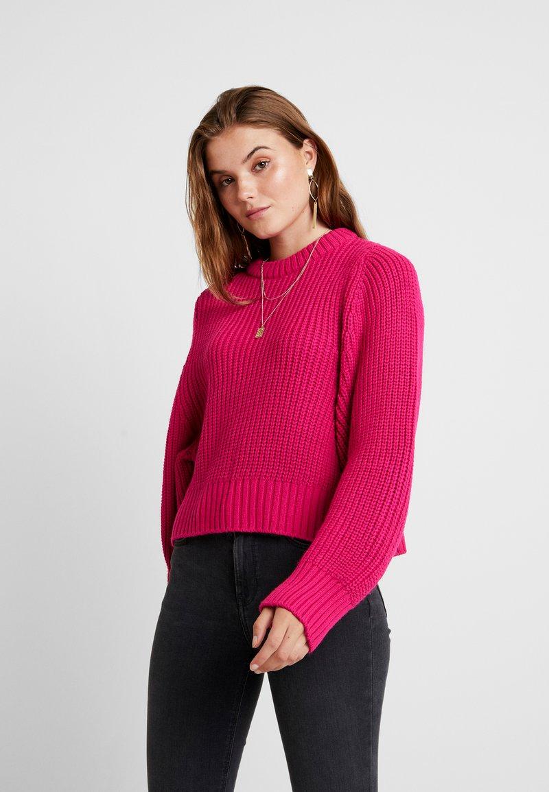 Topshop - DEEP - Jumper - bright pink