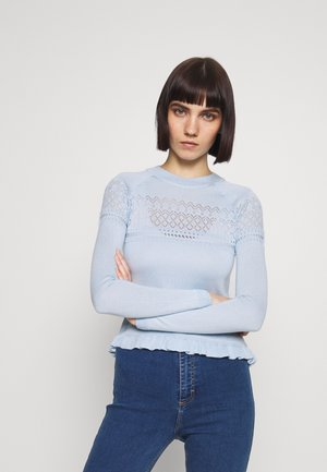 Pullover - pale blue