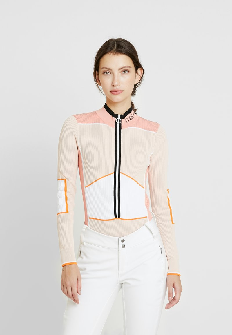 Topshop - SNO BODY - Neule - pink/white