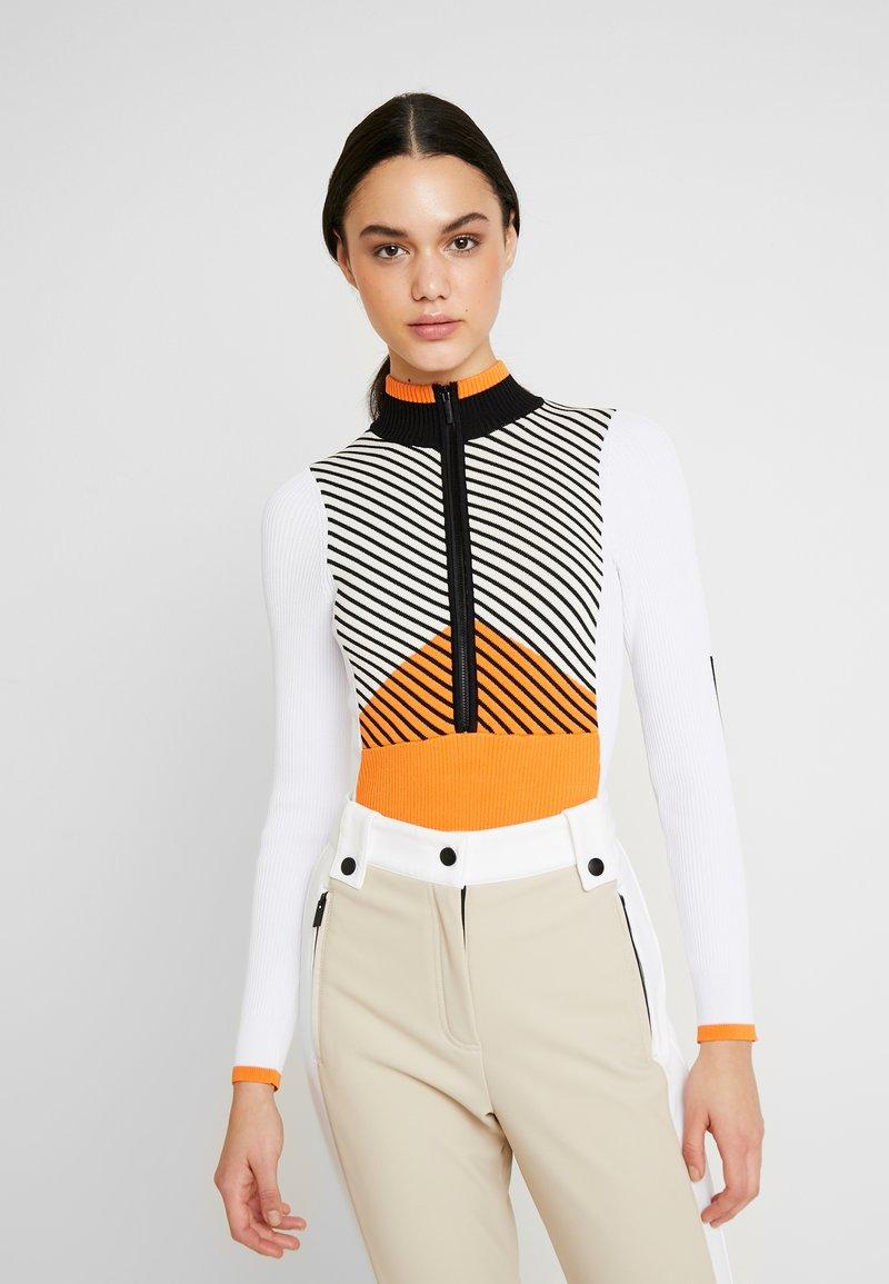 Topshop - SNO BODY - Maglione - orange/ white