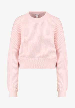 POINTELLE CROP - Trui - pink