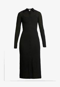 Topshop - CARDI MIDI - Košilové šaty - black - 4