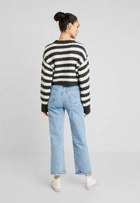 Topshop - CREW - Stickad tröja - grey - 2