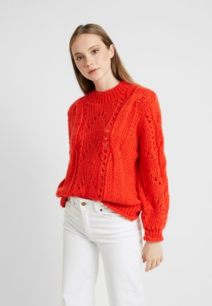 LOFTY SHELL - Sweter - orange