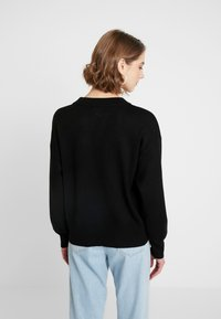 Topshop - SEQUIN NUTCRACKER - Jumper - black - 2