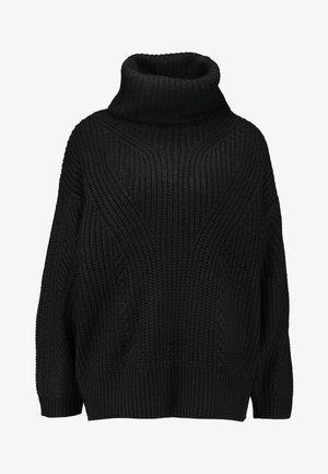 ROLL - Jersey de punto - black