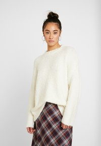 Topshop - BOUCLE - Maglione - oat - 0