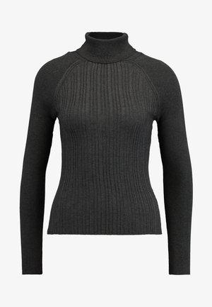 RAG ROLL - Stickad tröja - charcoal
