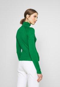 Topshop - RIB RAG ROLL - Sweter - green - 2