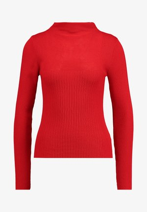 MIXED FUNNEL - Pullover - red