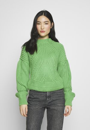 TRAVELLING BALLOON  - Sweter - green