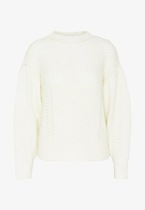 MID WEIGHT YOKE - Jumper - ivory