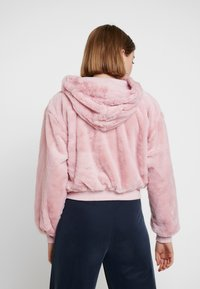 Topshop - ZIP HOODY - Tunn jacka - pink - 2