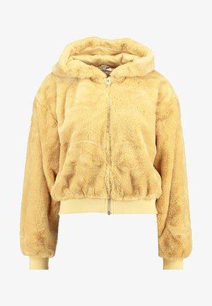 ZIP HOODY - Zimní bunda - butter