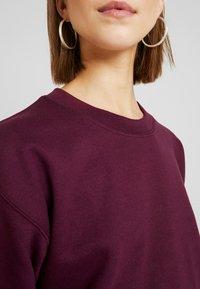 Topshop - EVERYDAY - Sweatshirt - burgundy - 4