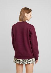 Topshop - EVERYDAY - Sweatshirt - burgundy - 2