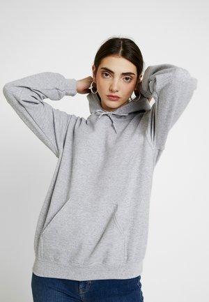 EVERYDAY HOODY - Bluza z kapturem - grey marl