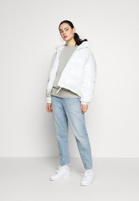 Topshop - PANEL - Sweatshirt - grey marl - 1
