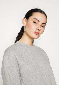 Topshop - PANEL - Sweatshirt - grey marl - 4