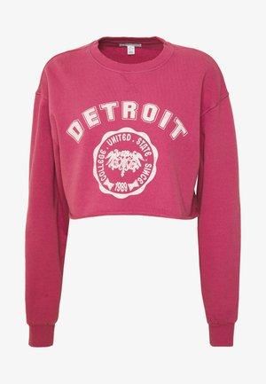 DETROIT - Bluza - pink