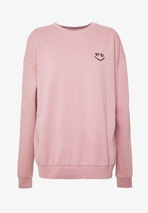 HEART - Sweatshirt - pink