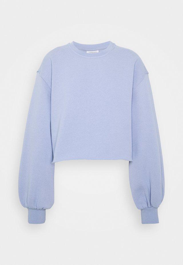 CROP - Sweatshirts - blue