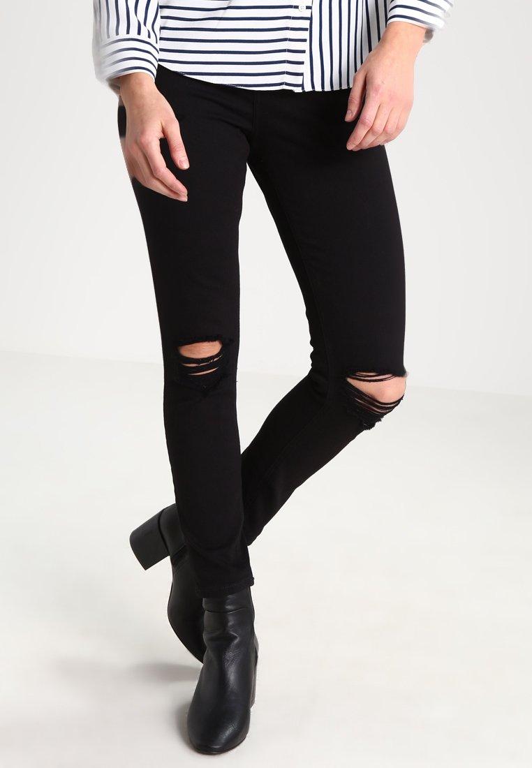 Topshop Petite - JAMIE - Jeans Skinny Fit - black
