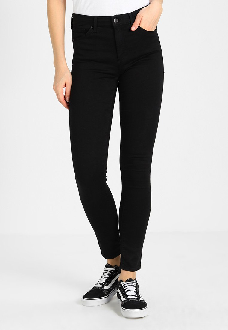 Topshop - LEIGH  - Jeans Skinny Fit - black
