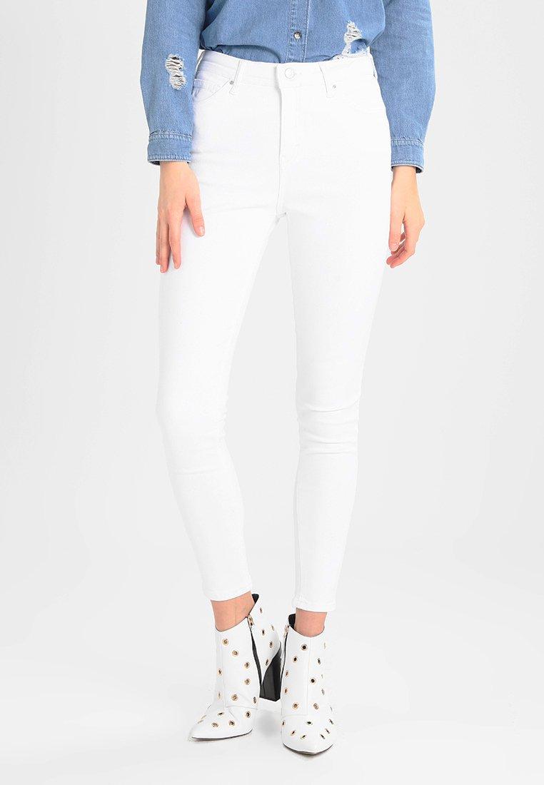 Topshop - JAMIE - Jeans Skinny Fit - white