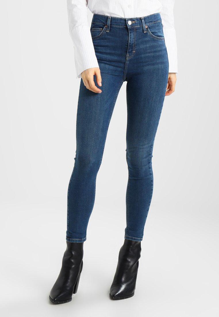 Topshop - JAMIE - Jeans Skinny Fit - bluegreen
