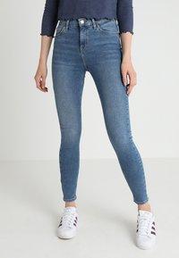 Topshop - JAMIE - Jeans Skinny Fit - blue - 0