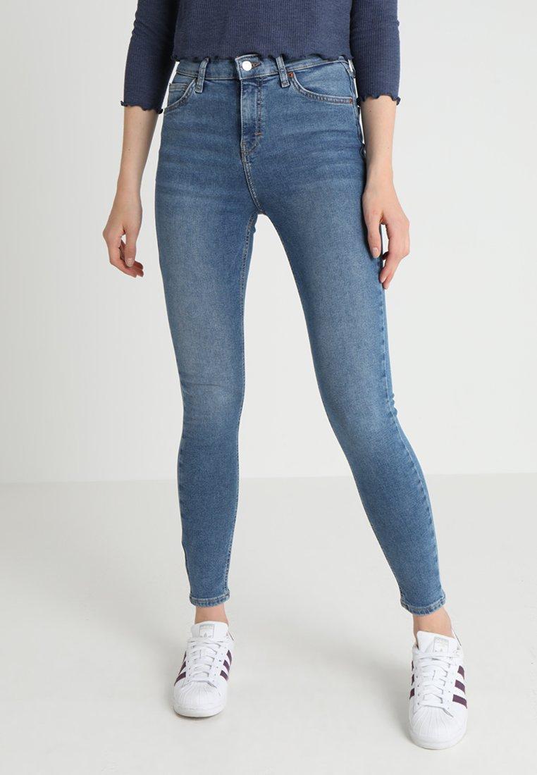 Topshop - JAMIE - Jeans Skinny Fit - blue