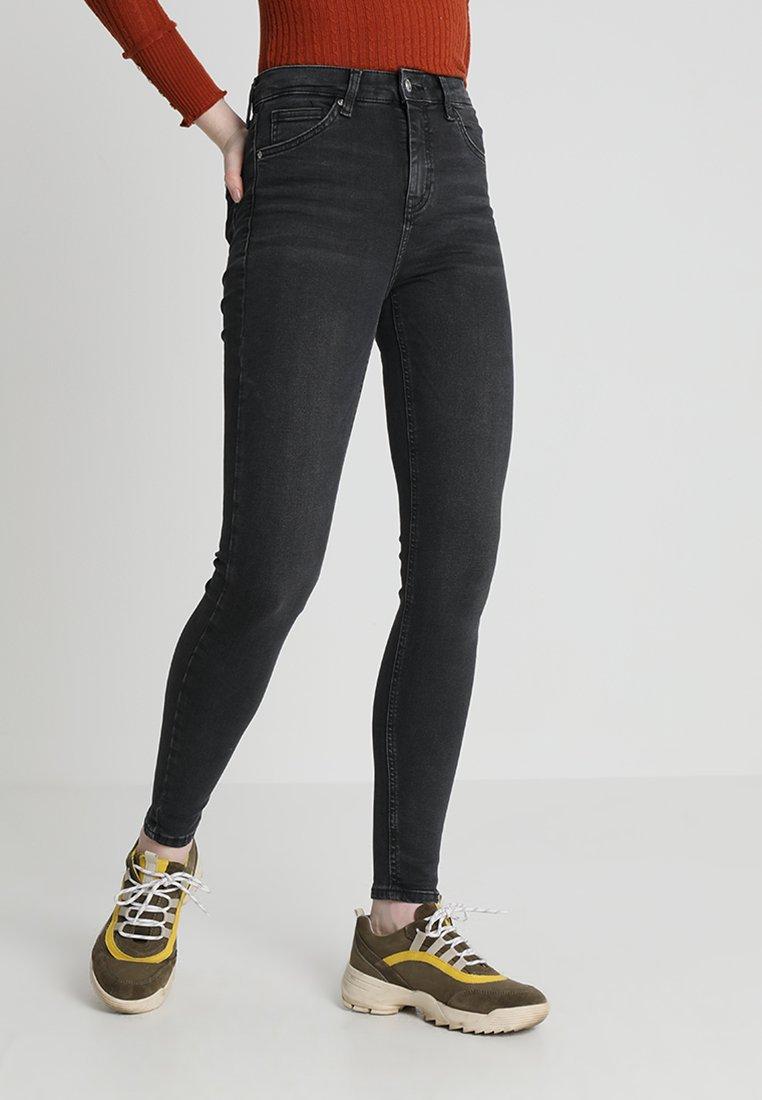 Topshop - JAMIE - Jeans Skinny Fit - black denim