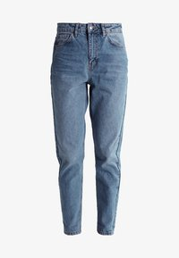 Topshop - MOM NEW - Jeansy Relaxed Fit - mid denim - 5