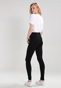 Topshop Tall - JONI   - Jeans Skinny Fit - black - 2