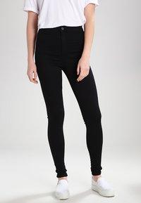 Topshop Tall - JONI   - Jeans Skinny Fit - black - 0