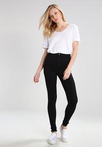 Topshop Tall - JONI   - Jeans Skinny Fit - black - 1