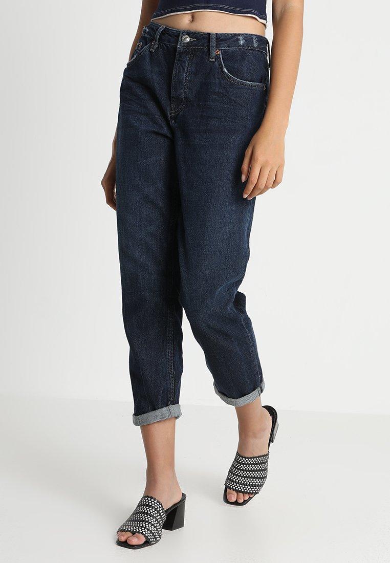 Topshop - HAYDEN   - Jeans Relaxed Fit - dark blue