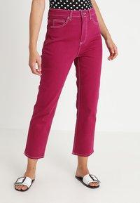 Topshop - STRAIGHT - Jeans straight leg - purple - 0