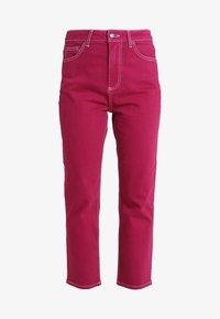 Topshop - STRAIGHT - Jeans straight leg - purple - 4