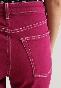 Topshop - STRAIGHT - Jeans straight leg - purple - 5