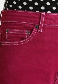 Topshop - STRAIGHT - Jeans straight leg - purple - 3